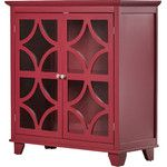 <strong>Tess 2 Door Accent Cabinet</strong> by Three Posts