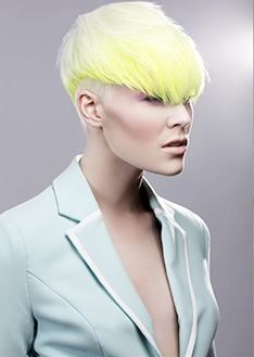 The cut is SEVERE.   Igor Rosales - Jackson - Creative Colourist of the Year Submission Collection