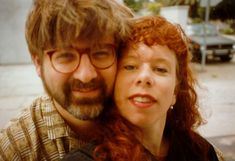 Matt Groening and Lynda Barry the 1980s.