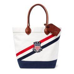 Team USA Polo Ralph Lauren 2016 Olympics Tote - White. ) 01f1335e1207b