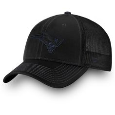 43630e38970 New England Patriots NFL Pro Line by Fanatics Branded Iconic Agile Flex Hat  - Black