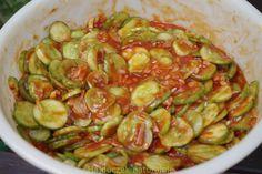 Ogórki po cygańsku - Hajduczek naturalnie - proste sposoby na zdrowe życie Vegetables, Food, Essen, Vegetable Recipes, Meals, Yemek, Veggies, Eten