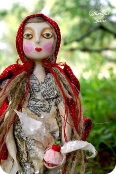 art dolls | Art Dolls Fairytale Forest Creatures Fungi: Art doll 30