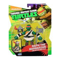 Raph The Barbarian LARP Teenage Mutant Ninja Turtles Action Figure