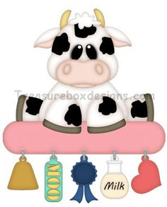 Charmed Treasures (Cow) - Treasure Box Designs Patterns & Cutting Files (SVG,WPC,GSD,DXF,AI,JPEG)