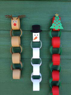 Christmas Countdown Crafts, Christmas Crafts For Kids, Xmas Crafts, Christmas Holidays, Christmas Decorations, Kindergarten Christmas Crafts, Craft Kits For Kids, Diy For Kids, Craft Ideas