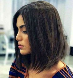 Awesome Stylish Layered Bob Hairstyles for Women Lob Haircut, Lob Hairstyle, Down Hairstyles, Straight Hairstyles, Black Hairstyles, Medium Hair Styles, Natural Hair Styles, Short Hair Styles, Layered Bob Hairstyles