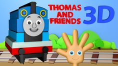 3D Thomas and Friends Finger Family Nursery Rhyme by Jump Family Finger