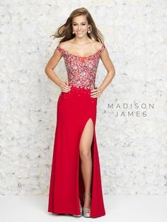 Madison James Special Occasion Dress 15-161 | Terry Costa Dallas