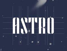 Astro Free Font #freefonts #fontsfordesigners #freetypeface