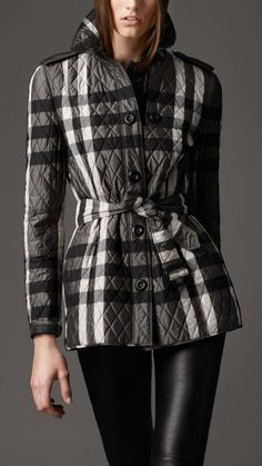 Burberry London Quilts and Puffers for Women