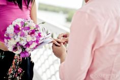 Proposal in Vietnam - He asked and she said YES. **See more pixs here: http://www.confetti.vn/khach-hang/james-christina/