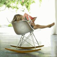 Eames rocking chair. Want.
