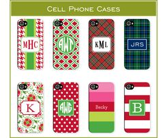 Holiday Cell Cases from Boatman Geller for all phone types! Find it at Sarah B., Madison, WI 608-233-2501
