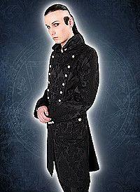 Aderlass Admiral Coat Brocade Black