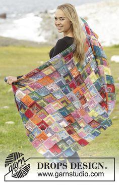 Tuto couverture tricotée
