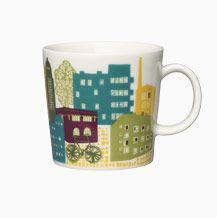 Arabia Moments Mug Home Town Downtown World Design Capital Helsinki 2012 Finland Nordic Design, Scandinavian Design, Helsinki, Cool Mugs, Marimekko, Vintage Pottery, Mug Designs, Hostess Gifts, Retro