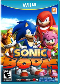 Custom Sonic Boom Wii U box art cover Wii U Games, Best Pal, Sonic Boom, Boombox, Box Art, Memes, Game Art, Sonic The Hedgehog, Video Games