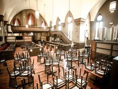 Indy's newest brewery and gastropub, St. Joseph Brewery and Public House, recently opened in an old Lockerbie neighborhood church!