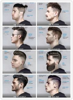Look-star from your hair Football Hairstyles, Mens Hairstyles With Beard, Popular Mens Hairstyles, Haircuts For Wavy Hair, Quiff Hairstyles, Cool Hairstyles For Men, Hair And Beard Styles, Haircuts For Men, Long Hair Styles