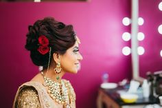 50 Bridal Hairstyles For Every Single Function At Your Wedding! | WedMeGood