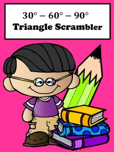 Special Right Triangles:  Students will enjoy special right triangle 30-60-90 with this scrambler activity. This activity is great for remediation and differentiation.