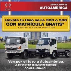 Ven por el tuyo a #Autoamérica ¡La diferencia está en el servicio!  Tel 4441121  http://ww0.autoamerica.com.co/buses-y-camiones/promo/