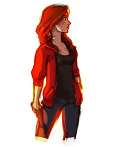 Scarlet from The Lunar Chronicles