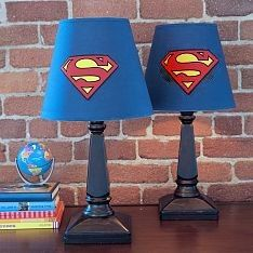 Superman Lamps