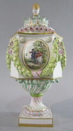 19th Century - Meissen Vase - Stunning!