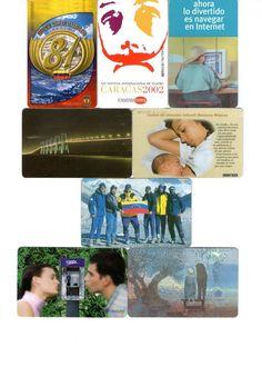 8 Phonecard / Tarjeta Telefonicas Venezuela Cantv Publicidad Cantv I. Social