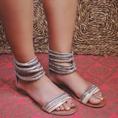 How fab are these brand new EUPHORIA goddess sandals? PIN 'em to WIN 'em!