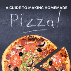 Make pizza a staple in your house with this easy how-to guide on making homemade pizza.