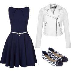 blue & white time