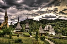 Barsana Monastery, Maramures, Romania (by Sorin Markus) The Beautiful Country, Beautiful Images, Romanian People, Visit Romania, Countries Of The World, World Heritage Sites, Places To Go, Europe, Mansions