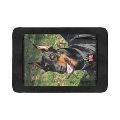 "Doberman Large #1 Pet Bed Pet Bed 54""x37""  #picture #products #Sarzo #HRHstudioboutique #coolsrtuff #cups #online #mugs #photography #New"