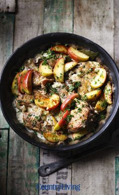 Combine British apples cider and pheasant in this delicious braised pheasant recipe More seasonal recipes at uk Casserole Dishes, Casserole Recipes, Pheasant Recipes, Pheasant Breast Recipe, Strudel Recipes, Cooking Recipes, Healthy Recipes, Healthy Food, Bon Appetit