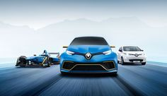 Renault built a 450-horsepower Zoe EV and it's gnarly     - Roadshow Its always fun to see a traditionally pedestrian car thats been turned into some performance monstrosity. Renaults Zoe E-Sport concept is exactly that.  Utilizing technology gleaned from Renaults Formula E racing efforts the Zoe E-Sport concept is ready to tear it up. Two electric motors provide nearly 460 horsepower and 472 pound-feet of torque. Thats a far cry from the production models sub-100 horsepower output.  Since…