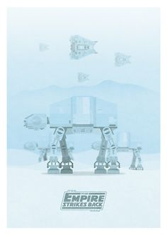 Star Wars - The Empire Strikes Back by George Townley