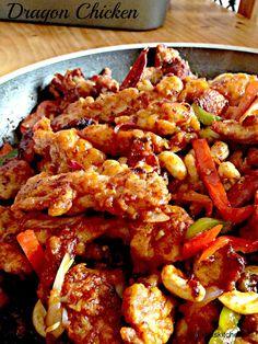 Dragon Chicken    Kukskitchen
