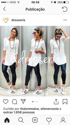 Casual Work Outfits, Mode Outfits, Look Casual, Look Chic, Casual Chic, Trendy Outfits, Fashion Outfits, Womens Fashion, Looks Jeans