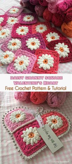 New Ideas crochet granny square pattern tutorial link Crochet Edging Patterns, Granny Square Crochet Pattern, Crochet Blocks, Crochet Squares, Crochet Granny, Crochet Edgings, Crochet Baby, Free Crochet, Crochet Motif