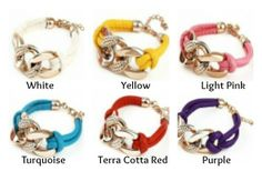 Chunky Bracelets 79% off at Groopdealz