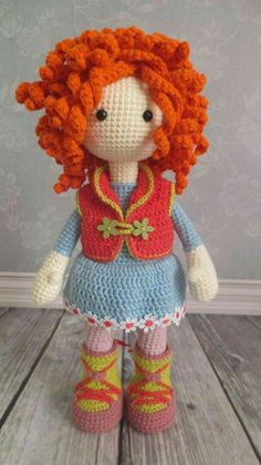 Knitting Patterns Toys Beautiful handmade doll to cuddle, play and love. With direct link to the sale … Crochet Doll Clothes, Knitted Dolls, Crochet Dolls, Knit Crochet, Baby Knitting Patterns, Amigurumi Patterns, Doll Patterns, Crochet Doll Pattern, Crochet Patterns