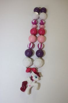 My Little Pony Chunky Bubble Gum Toddler Girls Necklace