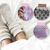 Neulepinta villasukan varteen | Kodin Kuvalehti Seeds, Slippers, Knitting, Knits, Fashion, Moda, Sneakers, Tricot, Fashion Styles
