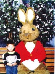 Willowbend Mall Easter Bunny
