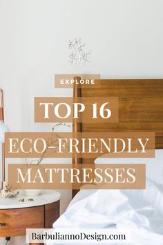 16 TOP Eco-Friendly, Non-Toxic and Organic Mattresses for guilt-free sleep. In this article, we will take a closer look at: What is an Eco-Friendly mattress? Where can we buy some of the best Eco Friendly organic and natural mattresses for a comfortable guilt-free sleep? How to get rid of an old mattress in an Eco-Friendly way. #ecofriendlymattress #organicmattress #bestorganicmattress #bestnaturalmattress #affordableorganicmattress #bestnontoxicmattress