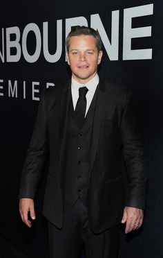 """Actor Matt Damon attends the premiere of Universal Pictures' """"Jason Bourne"""" at The Colosseum at Caesars Palace on July 18, 2016 in Las Vegas, Nevada."""