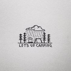 Let's go camping #doodles
